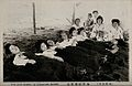 Japanese ladies taking a sand bath, Beppr Wellcome V0049854.jpg