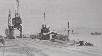Type A submarine - I-10 in 1942 in Penang