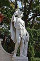 Jardí de Montfort, estàtua de Bacus.JPG