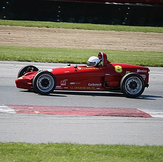 Formula Vee - 2004 SCCA National Championships Runoffs Winner Jeff Loughead