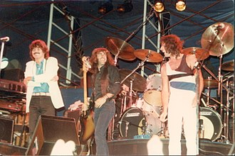 Jefferson Starship - Jefferson Starship, Mickey Thomas, Pete Sears, Aynsley Dunbar in 1981