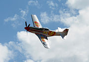 Jelly Belly P 51 Mustang at Reno 2014 by D Ramey Logan.jpg