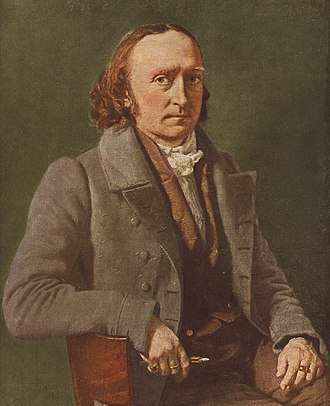 Christian Albrecht Jensen - Christian Albrecht Jensen, Self-portrait from 1836