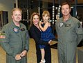 Jeri and Hayden proudly greet two men of the US Army (1799193883).jpg