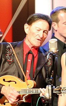 Jesse McReynolds at the Grand Ole Opry in 2007.