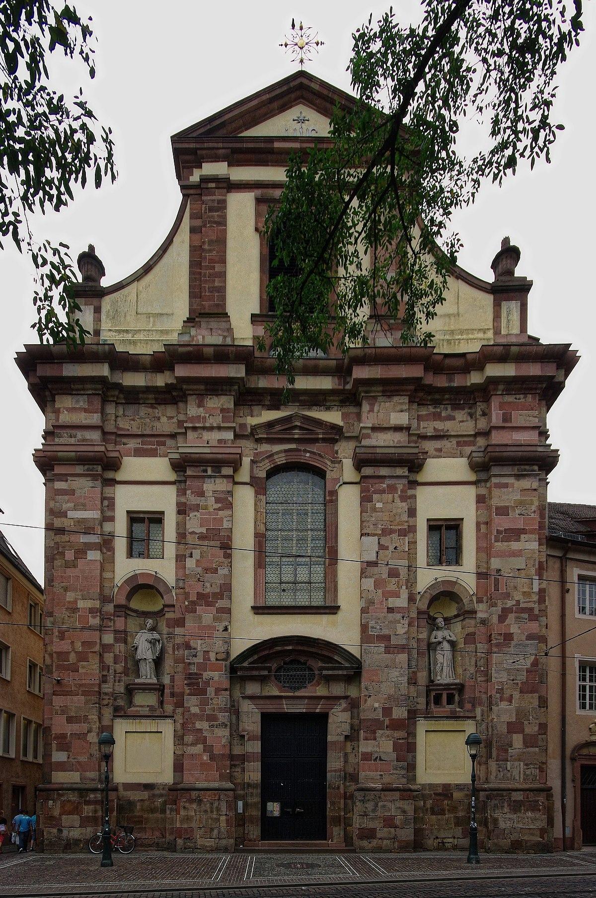 Universit Tskirche Freiburg Im Breisgau Wikipedia
