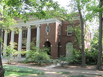 Peabody College - Jesup Psychological Building, Peabody Esplanade