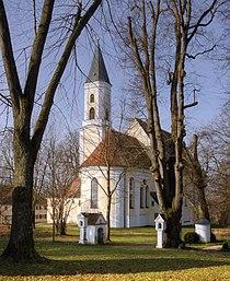 Jettingen-Scheppach, Wallfahrtskirche Allerheiligen Ostseite 2010.jpg