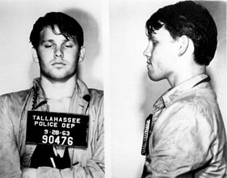 Jim Morrison - Morrison was arrested in Tallahassee, Florida after pulling a prank while drunk at a football game