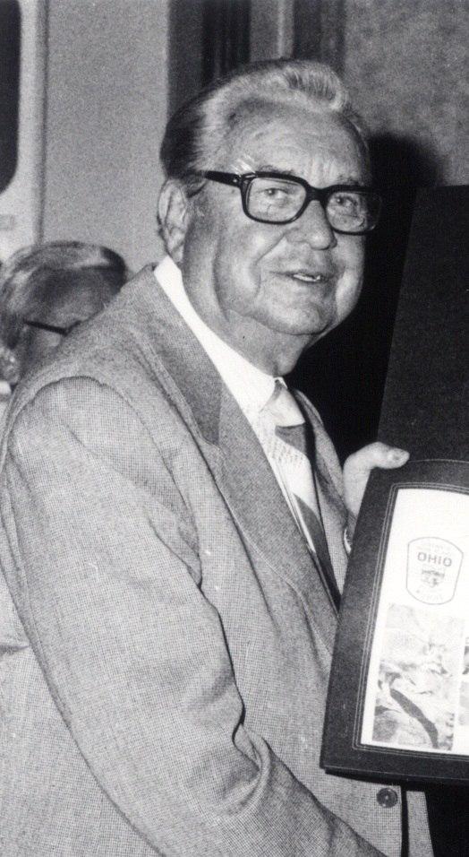 Jim Rhodes in Bettsville, Ohio October 15, 1981