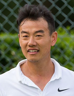 Jimmy Wang (tennis) - Wang at the 2015 Wimbledon<br/>qualifying tournament