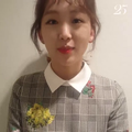 Jin Ki-joo para Marie Claire Korea -마리25주년 스타들의 축하 릴레이 - 진기주 02.png