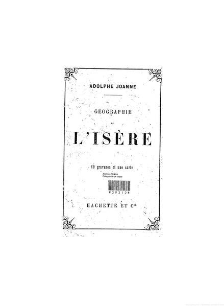 File:Joanne, Géographie de l'Isère, 1876.djvu