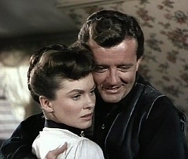 Joanne Dru-Robert Walker in Vengeance Valley.jpg