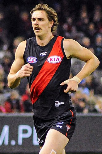 Joe Daniher - Daniher playing for Essendon in June 2017