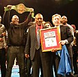 Joe Frazier awarded by the Daily News.jpg