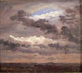 Johan Christian Dahl - Clouds over a flat Landscape - NG.M.01741 - National Museum of Art, Architecture and Design.jpg