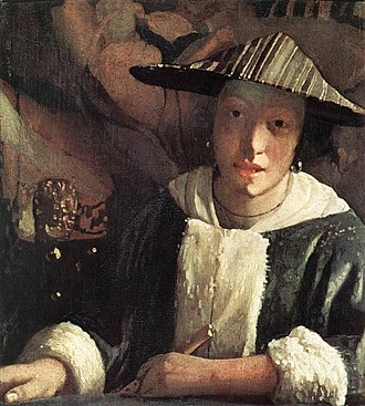 Tronie - Image: Johannes Vermeer Young Girl with a Flute WGA24683
