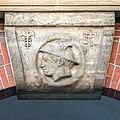 Johanneum (Hamburg-Winterhude).Bauschmuck.Weinberger.Arkaden.Werksteinrelief 5.Hermes.21907.ajb.jpg