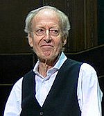 A photo of composer John Barry from 2006.