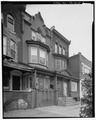 John Coltrane House, 1511 North Thirty-third Street, Philadelphia, Philadelphia County, PA HABS PA,51-PHILA,756-2.tif