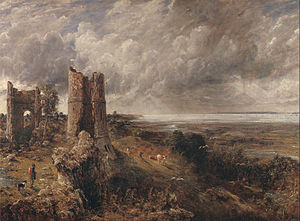 Hadleigh Castle (painting) - Image: John Constable Hadleigh Castle, The Mouth of the Thames Morning after a Stormy Night Google Art Project