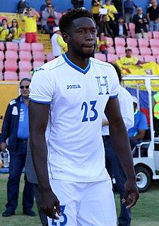 Johnny Palacios Honduran footballer