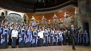 Orfeó Català - Orfeó Català performing in 2014