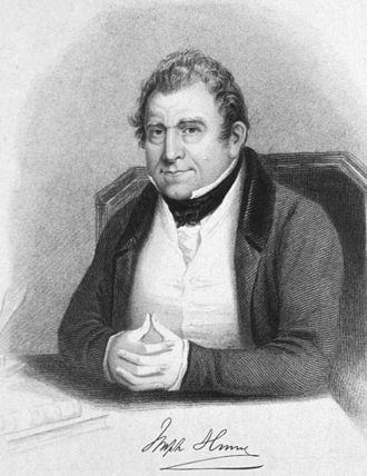 Joseph Hume - Image: Joseph Hume 2
