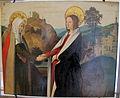Josse lieferinxe, visitazione e s.lucia sul retro, 1500 ca., 01.JPG