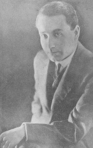 Juan Guzmán Cruchaga - Juan Guzmán Cruchaga in 1930
