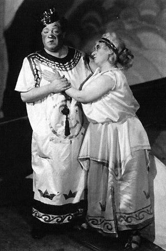 Jullan Kindahl - Jullan Kindahl and Edvard Persson in Orfeus (1926)