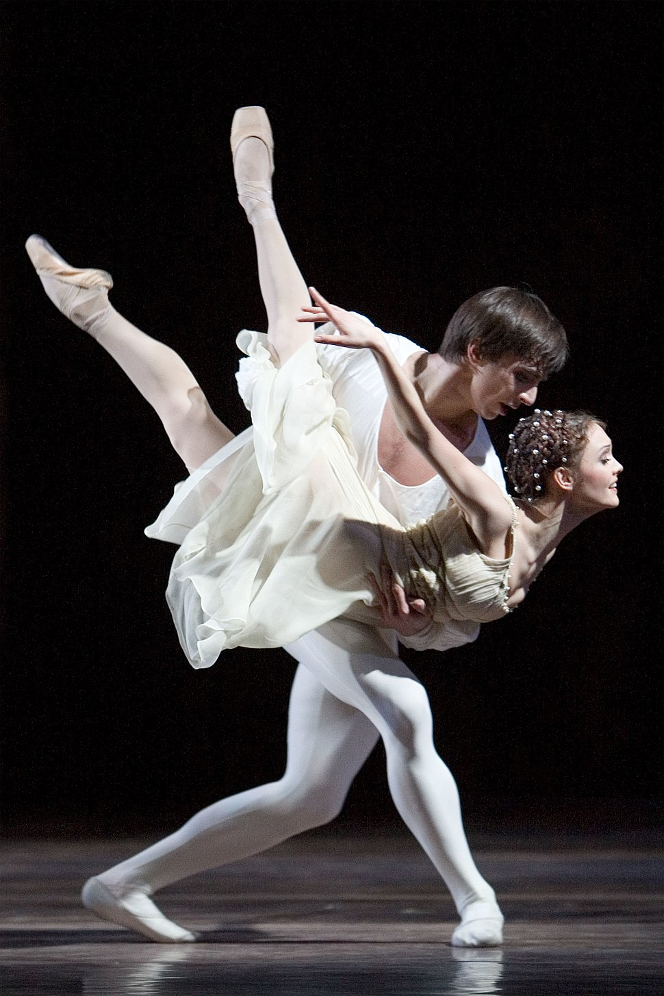 Jurgita Dronina and Olaf Kollmannsperger in Romeo and Juliet 2007
