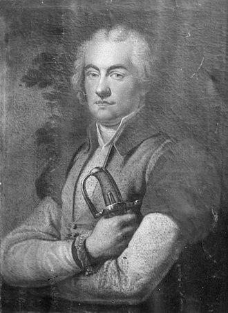 Józef Kossakowski (colonel) - Józef Kossakowski around 1815