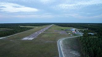 Kärdla Airport - Image: Kärdla Lennujaam Hiiumaal