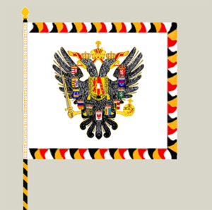 Imperial-Royal Landwehr - Obverse of the k.k. Landwehr's regimental colours