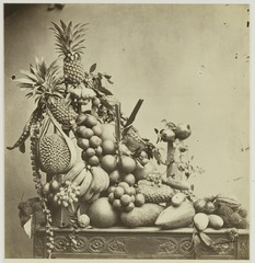 KITLV 26589 - Isidore van Kinsbergen - Fruit Assortment in Batavia - Around 1870.tif