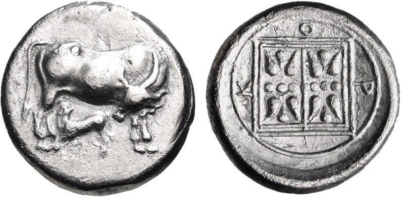 KORKYRA, Korkyra. Circa 350-30-290-70 BC