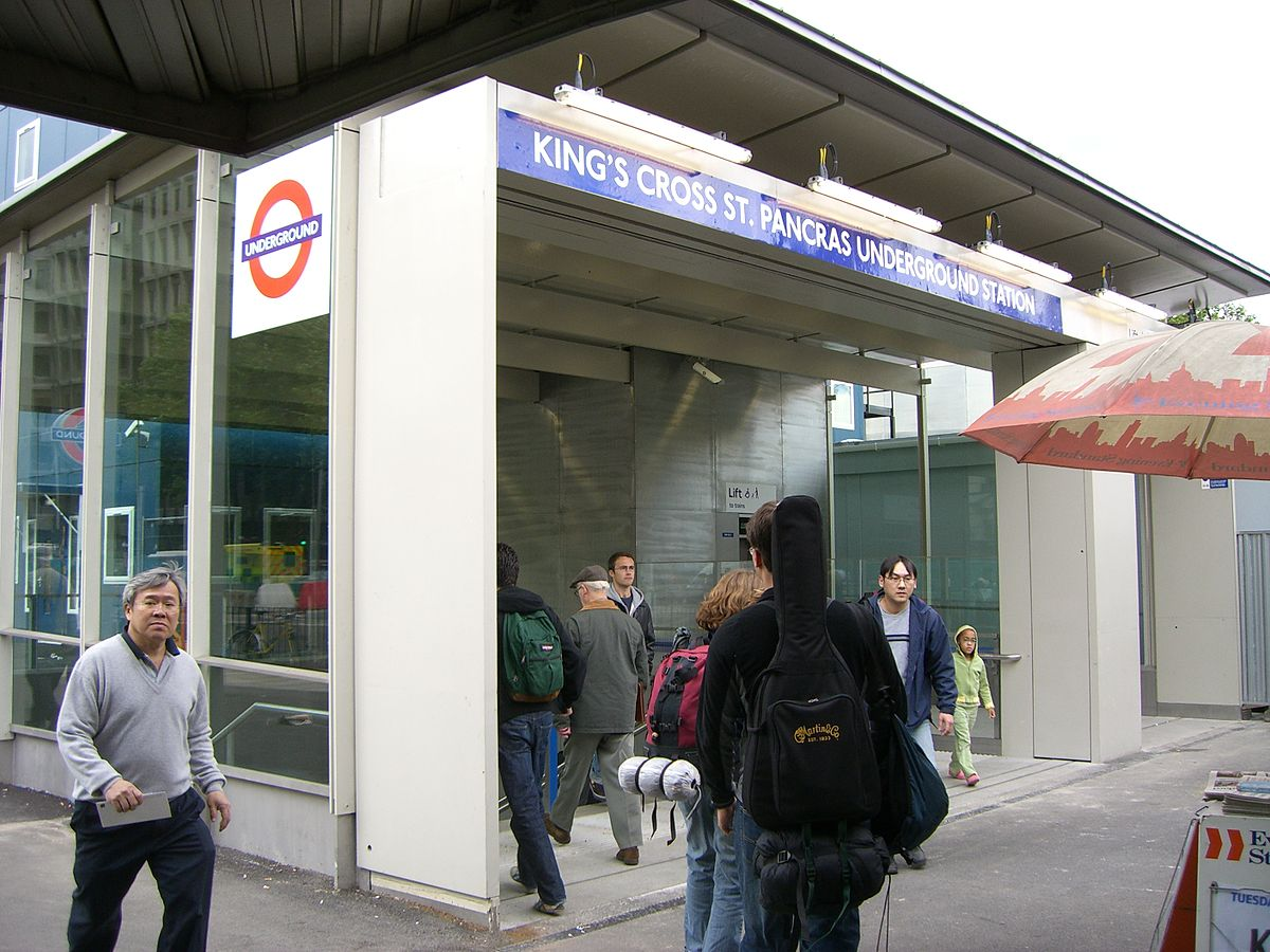 how to get from st pancras to kings cross