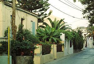 Kalyves - Kalives town