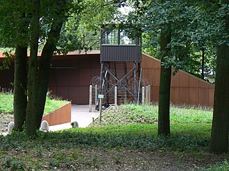 Amersfoort concentration camp - The watchtower of the camp