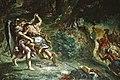 Kampf Jakobs mit dem Engel - Fresko von Delacroix (M7000AF2010).jpg