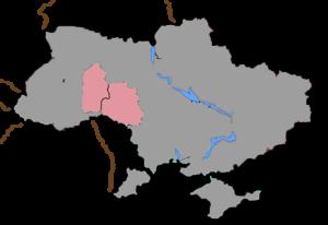 Roman Catholic Diocese of Kamyanets-Podilskyi - Image: Kamyanets Podilsky diocese location