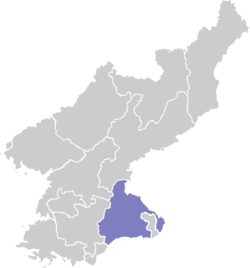 Kangwŏn-do in Noord-Korea
