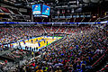 Kansas Jayhawks Open Practice at the 2016 March Madness Opening Rounds (25217234113).jpg