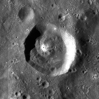 Kant (crater) - LRO WAC mosaic