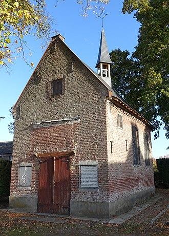 Aldeneik - The chapel in Aldeneik, consecrated by Herlindis and Relindis