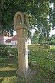 Kaple Bolestné Panny Marie s bývalou kaplí svatého Floriana, Božími mukami a pamětními kameny v Pelhřimově 04.JPG