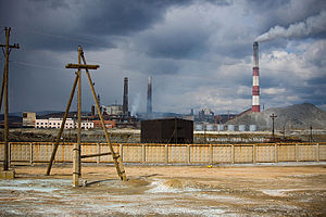 Karabash, Chelyabinsk Oblast - Copper smelting plant in Karabash