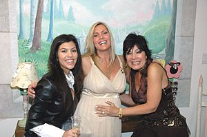 English: KARDASHIANS & Author LaReine Chabut